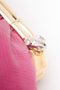 Judith Leiber Lizard Chain Clutch Tiny Frogs