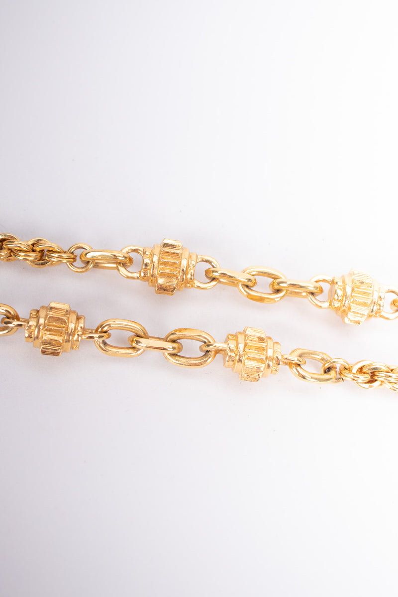 St. John Heavyweight Cog Chain Long Layering Necklace