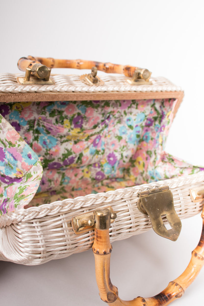 Ritter It's In The Bag Mermaid Shell Straw Box Bag