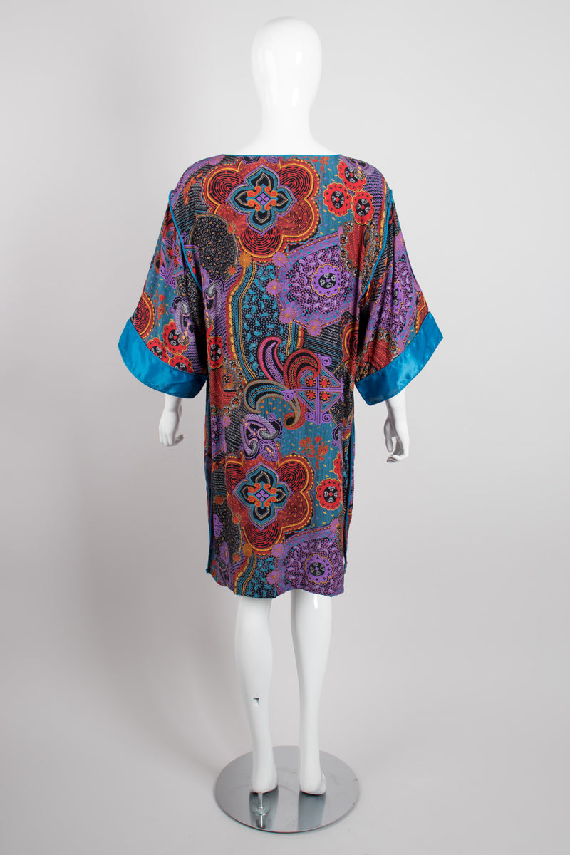 Mary McFadden Mixed Paisley Print Tunic