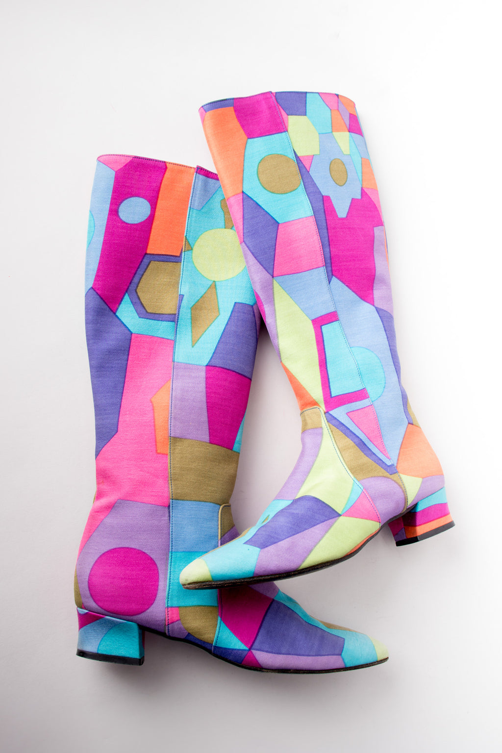 Kenneth Cole Geometric Graphic Print Mod Boot