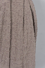 Beaded Wrap Skirt