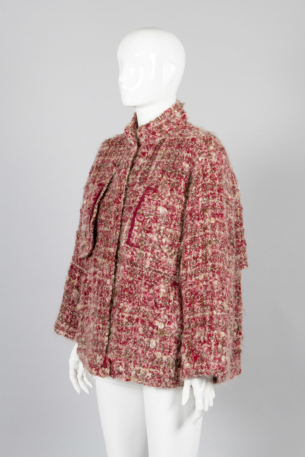 Galanos Boucle Mohair Jacket Front2