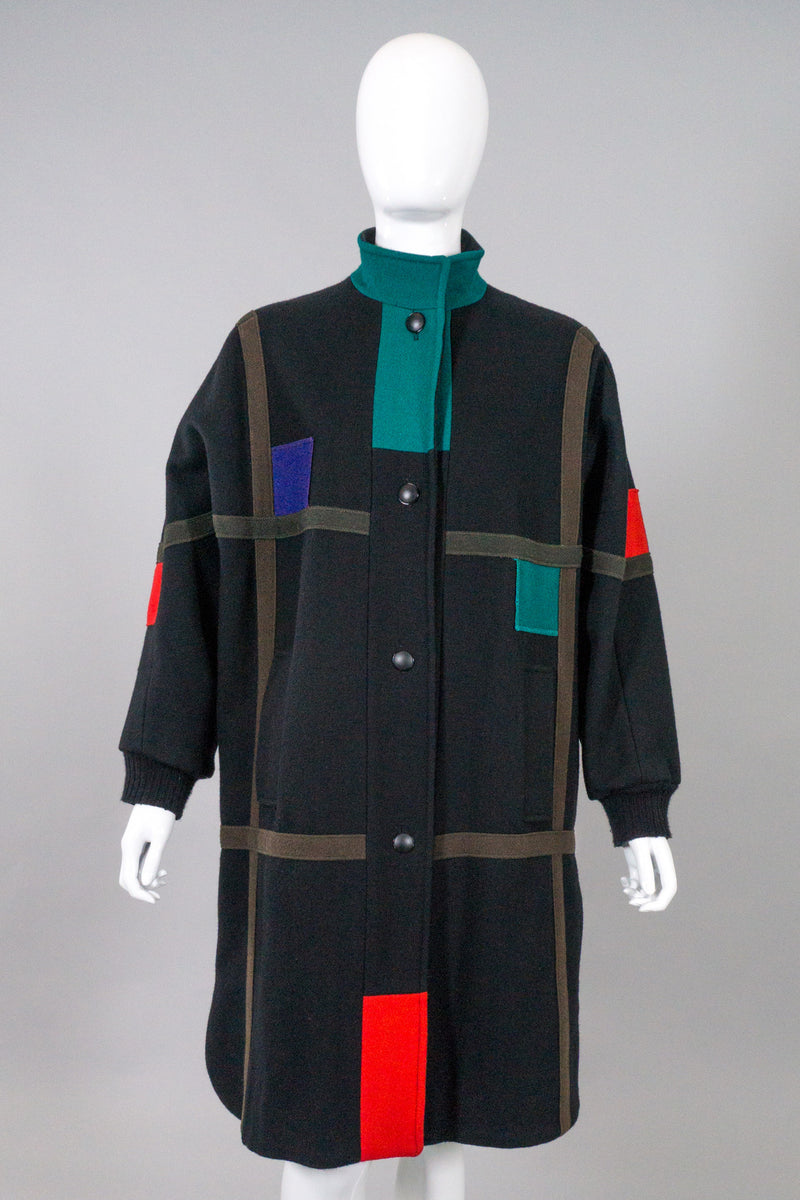 Herman Kay Mondrian Car Coat