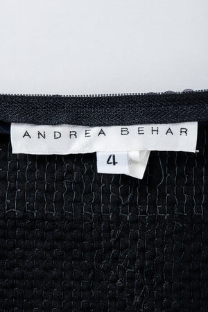 Vintage Andrea Behar Label on Black