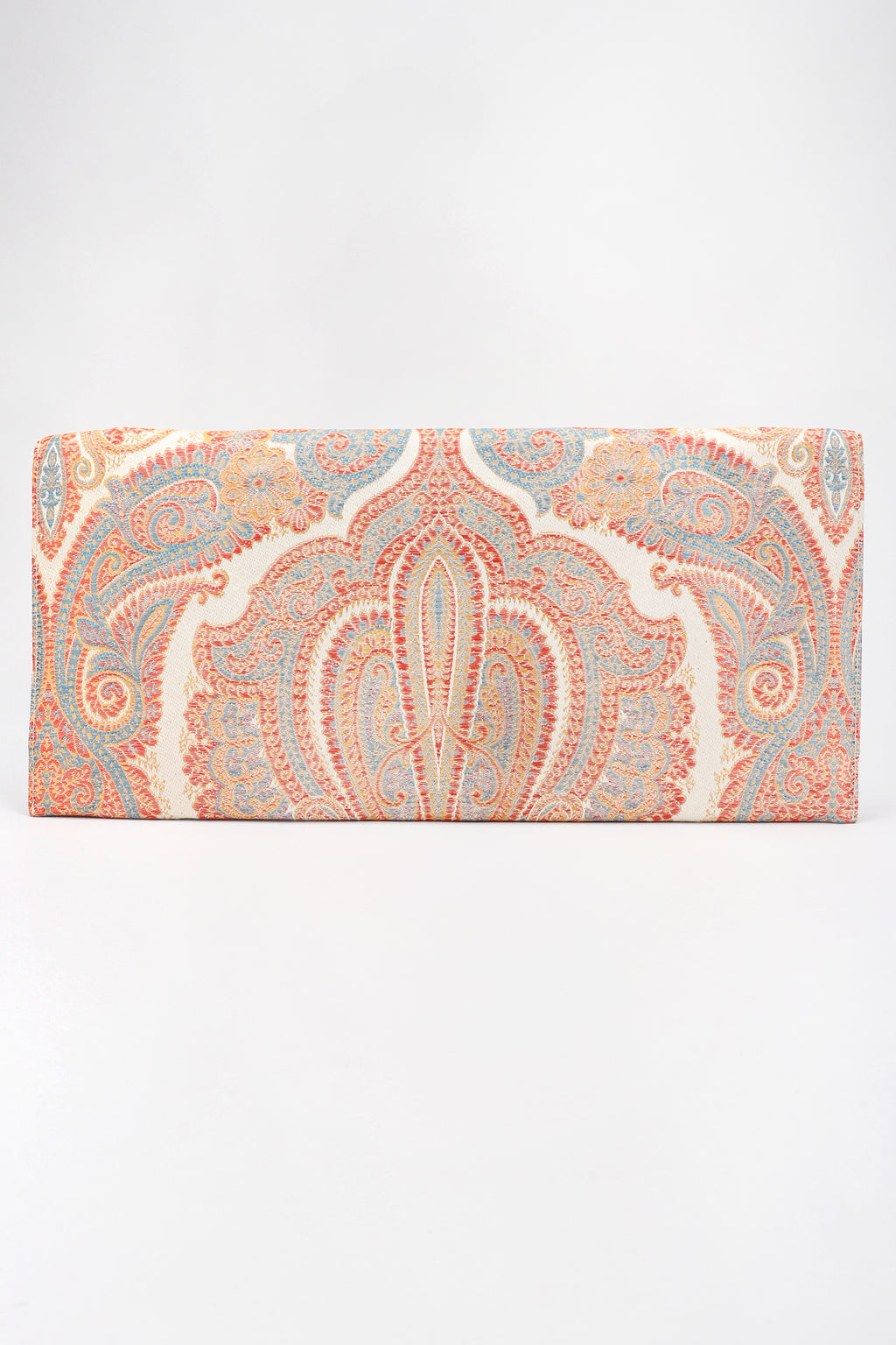 Recess Los Angeles Designer Consignment Vintage Original Bienen-Davis Golden Silk Brocade Clutch