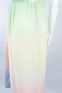 Bill Blass Rainbow Sherbet Dress