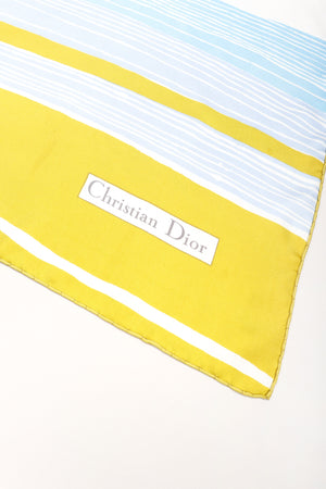 Recess Los Angeles Vintage Christian Dior Linear Circle Scarf
