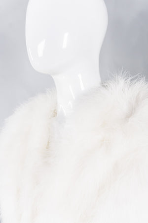Climax Vintage Marabou Feather Bolero Shrug Wedding JacketClimax Vintage Marabou Feather Chubby Bolero Shrug Wedding Jacket