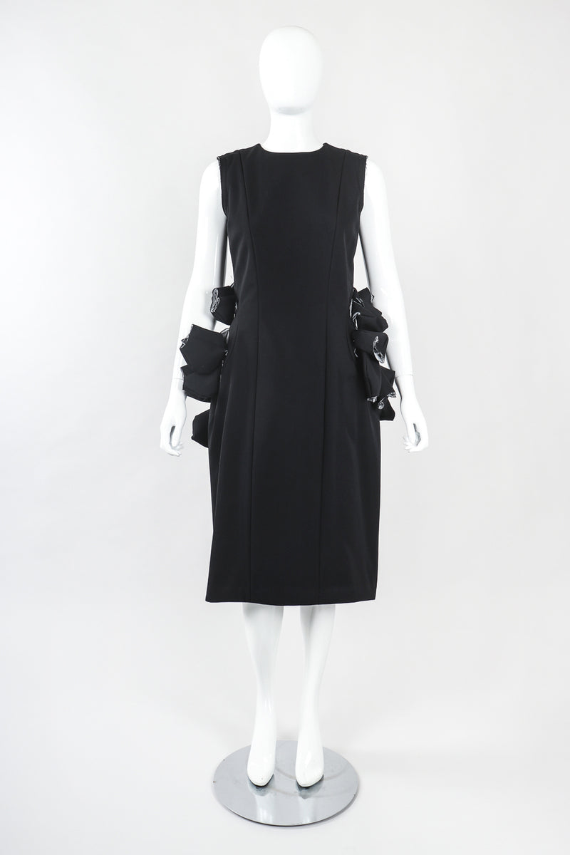 Recess Designer Consignment Vintage Comme des Garçons Japanese Avant Garde Padded Puff Sheath Dress Los Angeles Resale