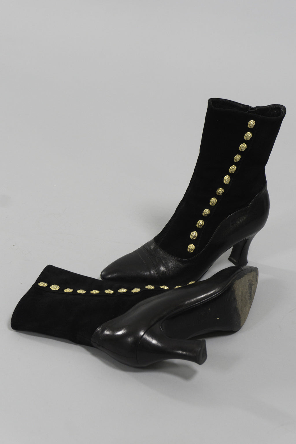 Versus Gianni Versace lion ankle boots