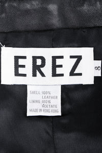 Vintage Erez Strapless Beaded Bustier Label at Recess LA