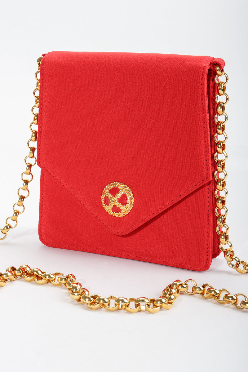 Vintage Escada Mini Crossbody Envelope Bag at Recess Los Angeles
