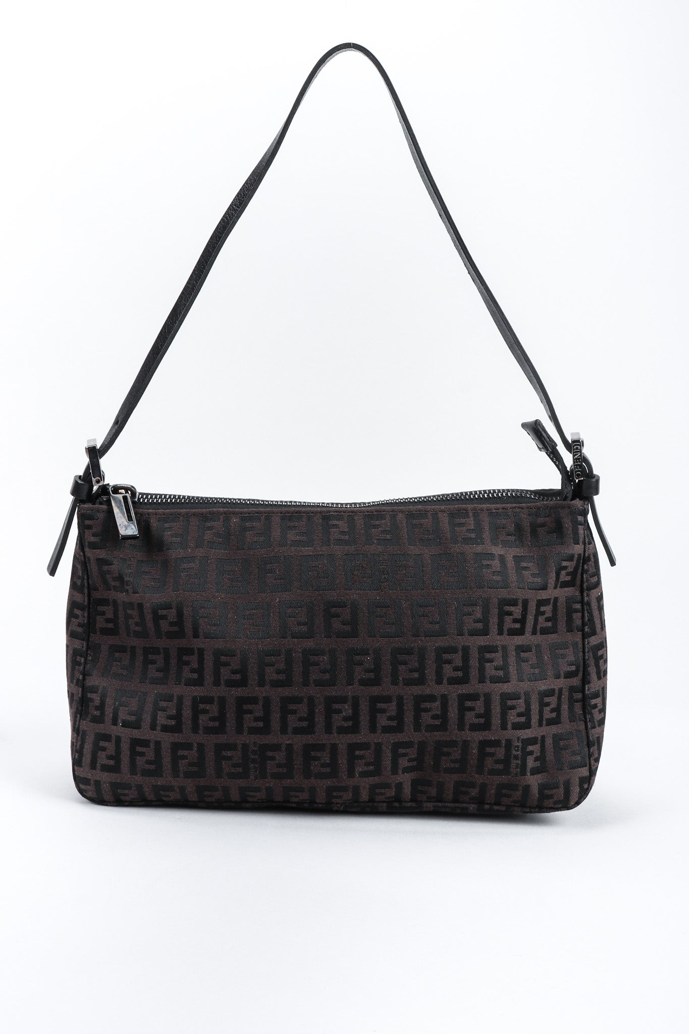 d27a0fc7ad88 ... where can i buy recess los angeles vintage fendi zucca double f  monogram mini bag brown