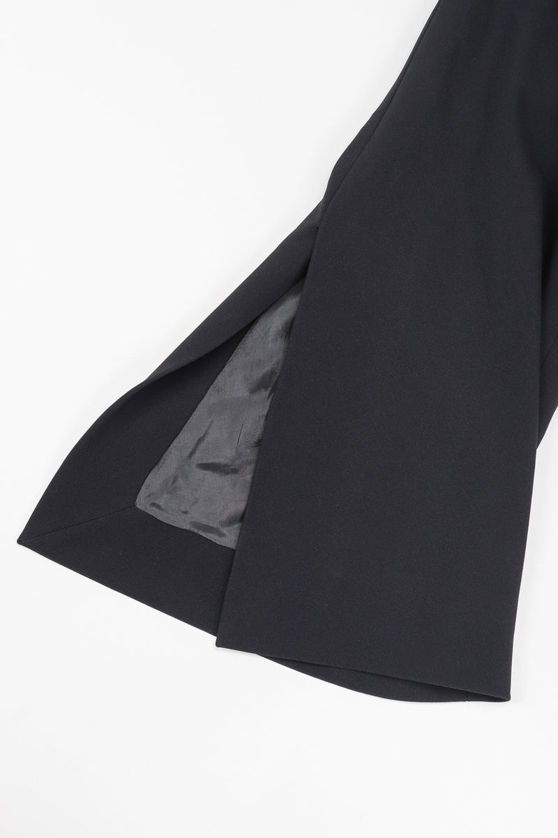 Recess Vintage Gianfranco Ferre Black Jacket sleeve detail