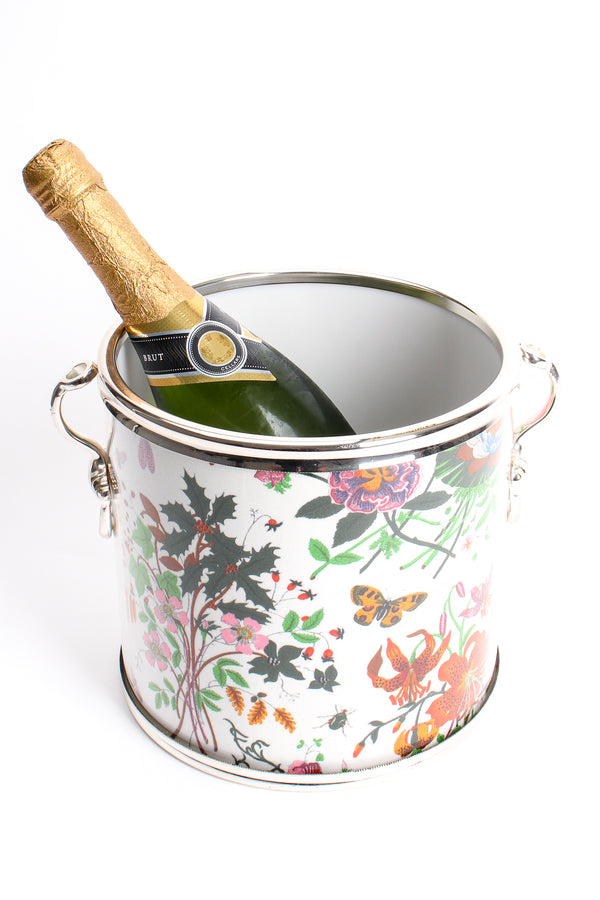 Vintage Gucci Flora Ice Bucket Chiller at Recess Los Angeles