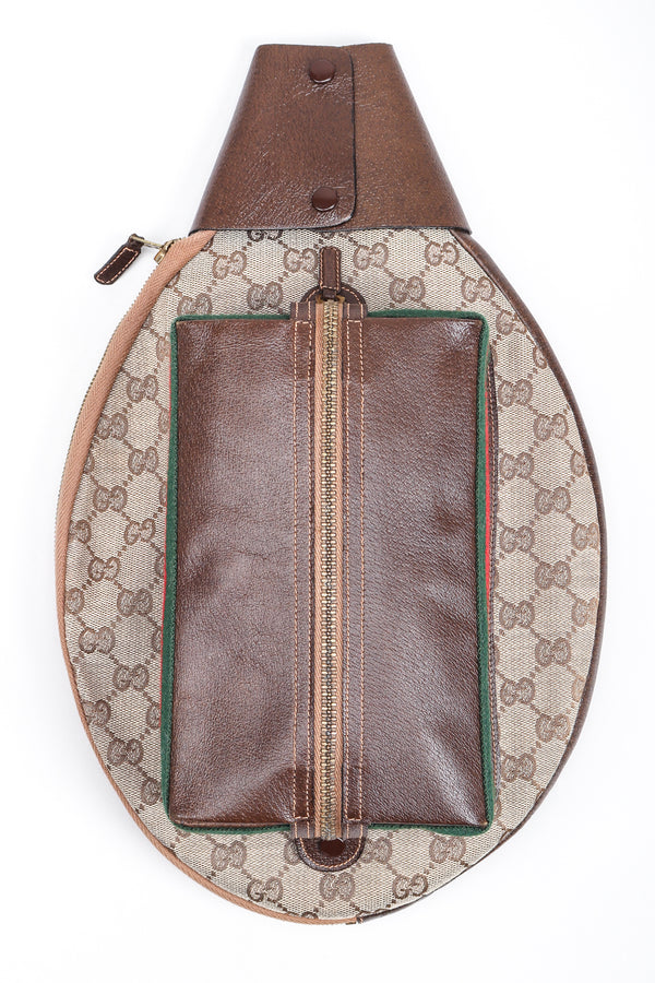 Recess Los Angeles Designer Consignment Vintage Gucci Monogram GG Tennis Racket Cover Case