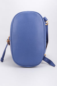 Recess Los Angeles Vintage Gucci Periwinkle Suede Bamboo Bucket Backpack