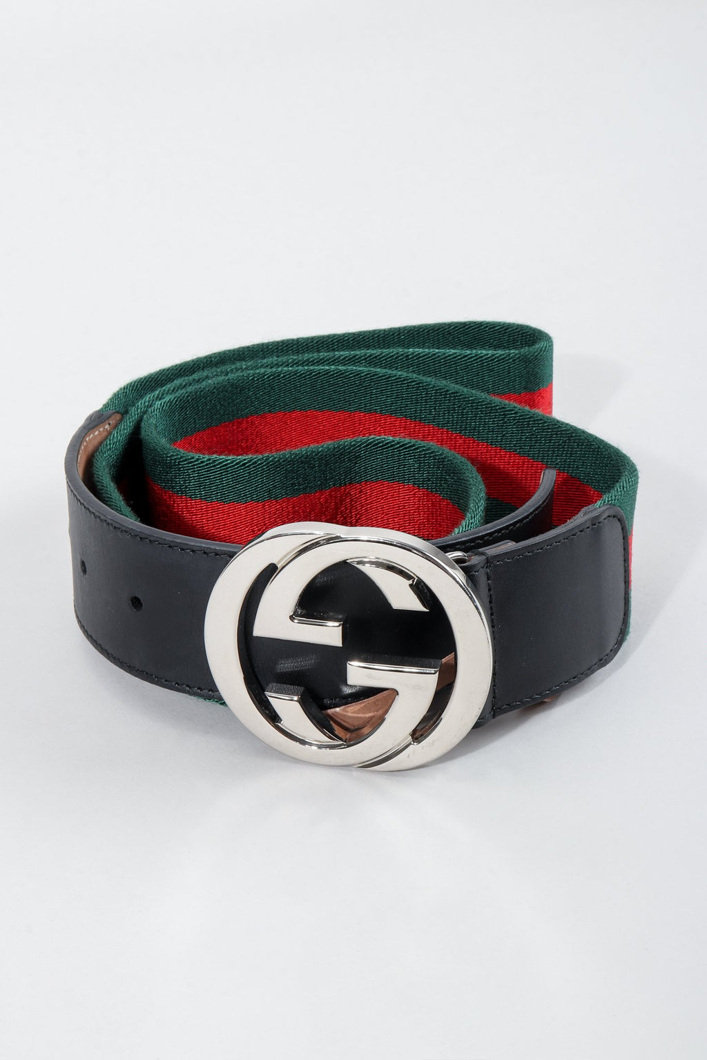 Vintage Gucci Interlocking Logo Belt at Recess LA