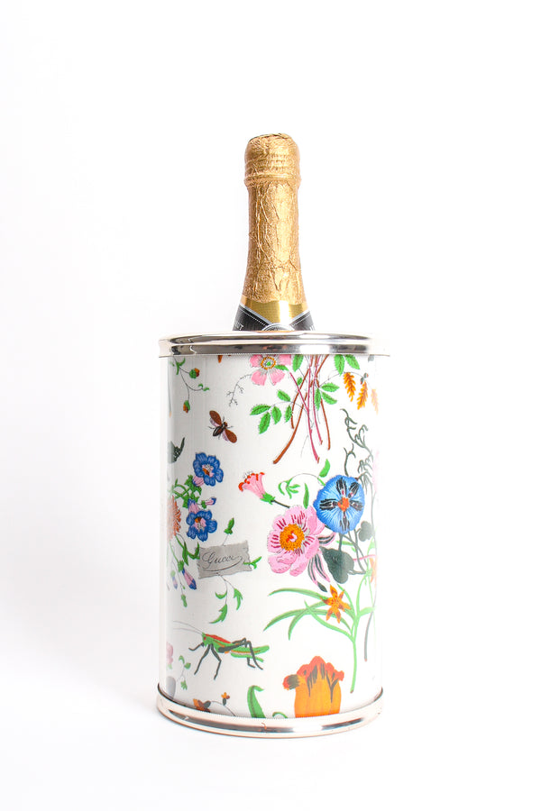 Vintage Gucci Flora Wine Bottle Chiller Cooler at Recess Los Angeles