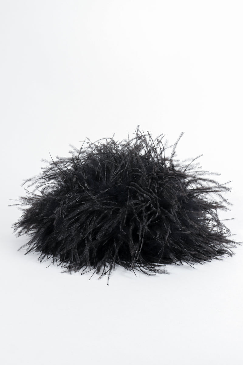 Vintage I.Magnin Ostrich Feather Urchin Hat At Recess Los Angeles