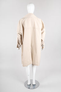 Recess Los Angeles Vintage Issey Miyake Oversized Trench Coat