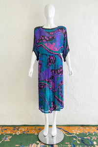 Vintage Judith Ann Creations Beaded Bateau Dress on Mannequin Front at Recess Los Angeles