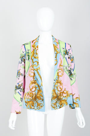 Vintage Kamosho by Marina Sitbon Baroque Circus Parade Jacket on mannequin front open at Recess