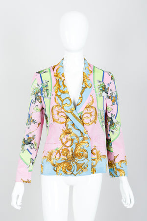 Vintage Kamosho by Marina Sitbon Baroque Circus Parade Jacket on mannequin front at Recess