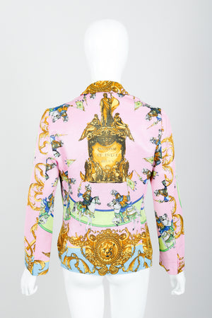 Vintage Kamosho by Marina Sitbon Baroque Circus Parade Jacket on mannequin back at Recess