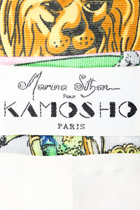 Vintage Kamosho by Marina Sitbon Baroque Circus Parade Jacket label on fabric