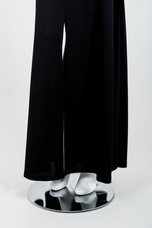 Vintage Karl Lagerfeld Twist Front Dress on Mannequin skirt at Recess Los Angeles