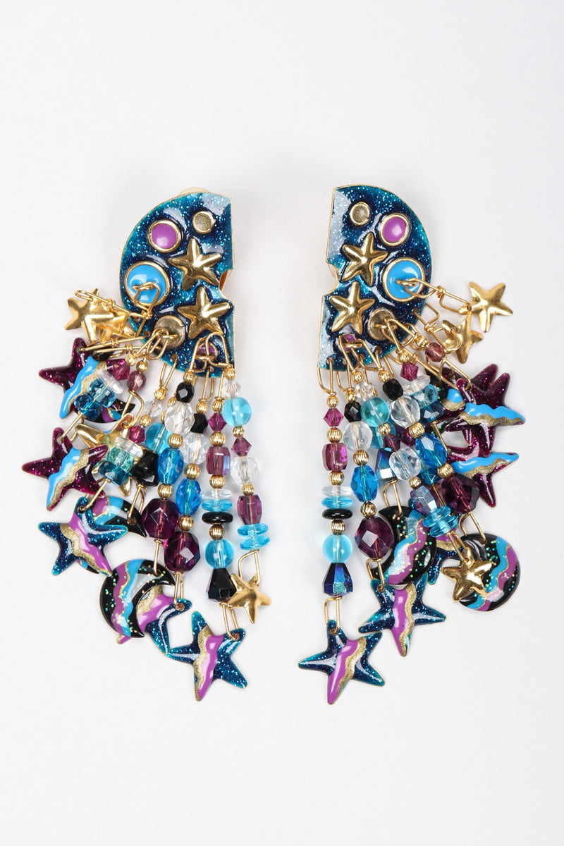 Recess Los Angeles Vintage Lunch At The Ritz Starsplosion Cascade Chandelier Earrings