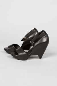 Robert Clergerie Triangle Wedge Heel