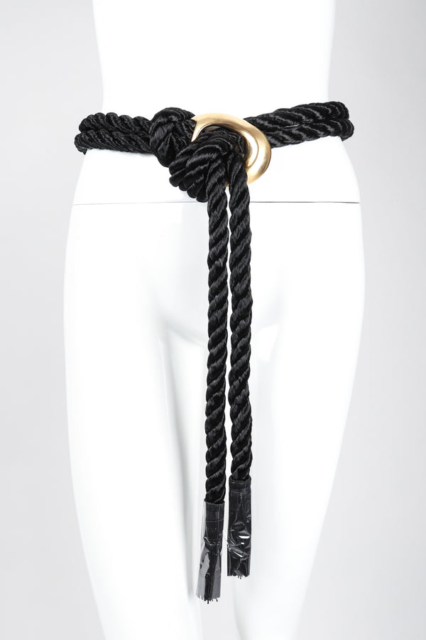 Recess Los Angeles Vintage Mary McFadden Tassel Rope Belt