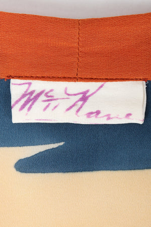 Vintage McKane label on fabric