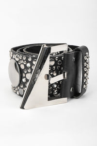 Recess Los Angeles Vintage Michael Morrison Studded Bling Belt