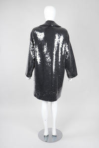Recess Los Angeles Vintage Michael Kors Oversized Sequin Boyfriend Coat