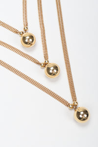 Layered Ball Necklace