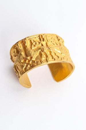 Vintage Metropolitan Museum of Art 1977 NMD Gold Xolo Dog Cuff Bracelet at Recess Los Angeles