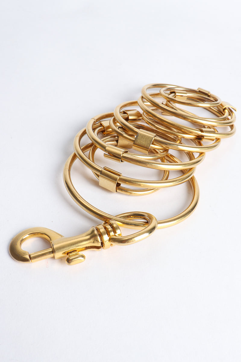 Vintage Gold O-Ring Chain Belt at Recess Los Angeles