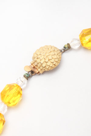 Recess Los Angeles Vintage Sunshine Drops Waterfall Crystal Bead Necklace