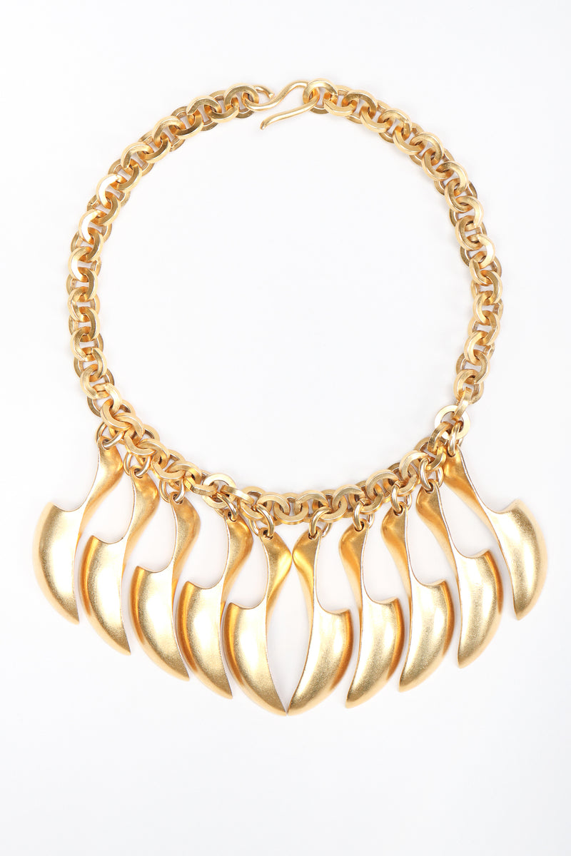 Modernist Claw Spike Necklace