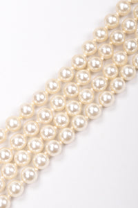 Recess Los Angeles Vintage Pearl Waterfall Necklace Neckerchief II