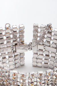 Recess Los Angeles Vintage Wide Crystal Baguette Bracelet