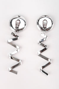 Recess Los Angeles Vintage Silver Balloon Confetti Drop Earrings