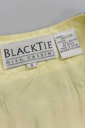 Oleg Cassini Black Tie Label