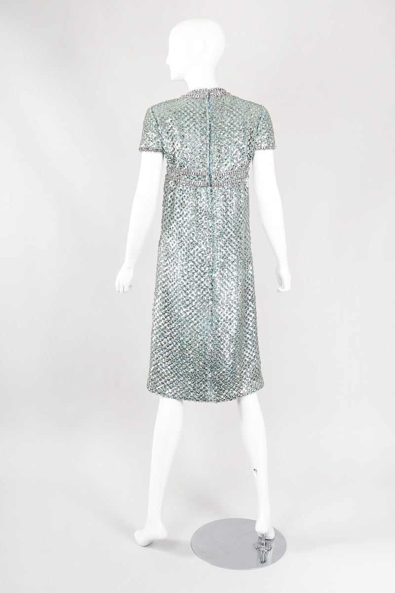 Recess Los Angeles Vintage Pat Sandler Short Sleeve Sparkle Dress