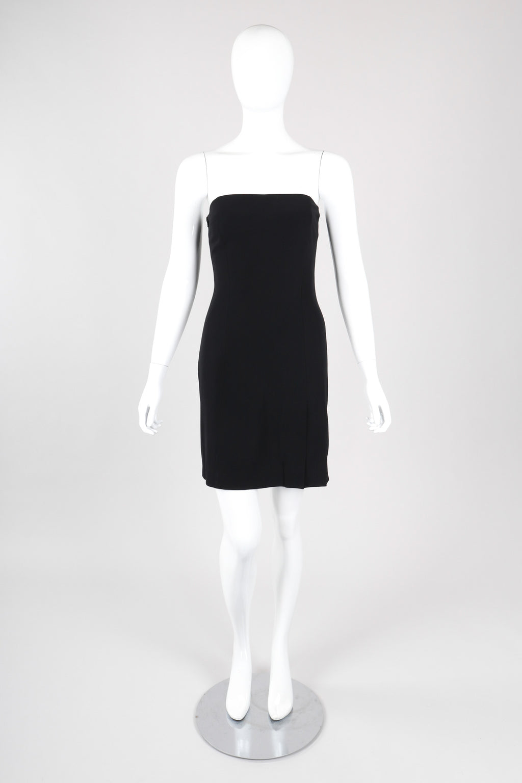 Recess Los Angeles Vintage Plein Sud 90s Minimal Strapless Minidress
