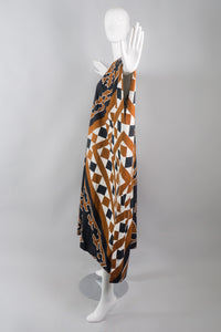 Robinsons Caftan in Vintage Print by Ira Seret and Angelo Donghia